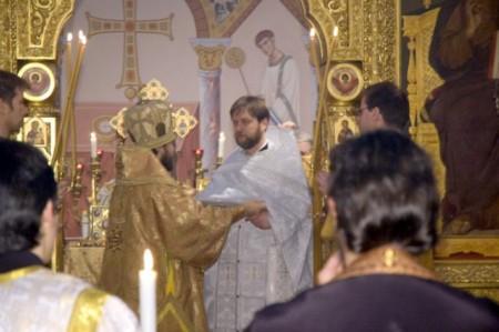Рукоположение в священники 4 января 2009 года Вена.