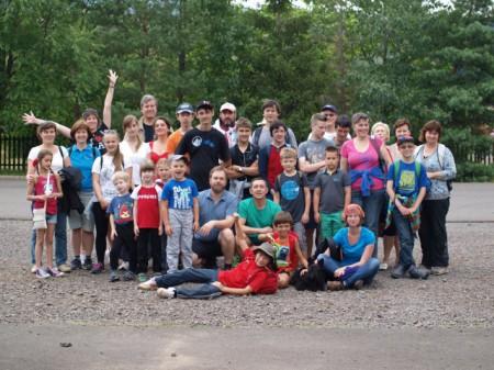 В летнем лагере