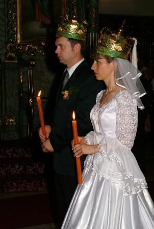 Венчание Дмитрия Корнилова с женой Анитой