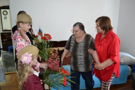 Поздравление ветеранов. Сидорова Мария Матвеевна