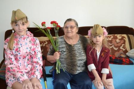 ДП - Поздравление ветеранов. Сидорова Мария Матвеевна
