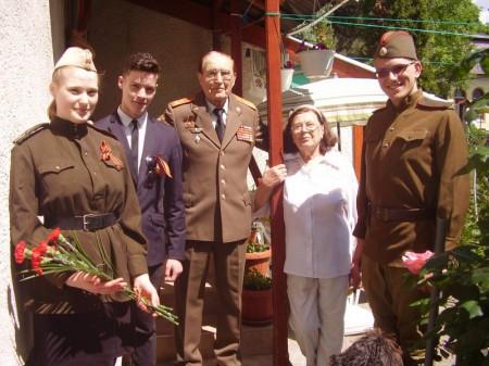 ДП - поздравление ветеранов - Дегтярев Иван Савельевич